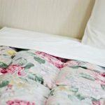 敷き布団購入。羊毛でふかふか、気持ちいい。これで眠れる!
